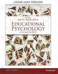 educational psychology leaf version 13th edition educational psychology active learning edition leaf