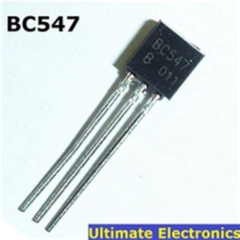 transistor bc 547 c 011 transistor bc547 to 92 npn 100ma 45v