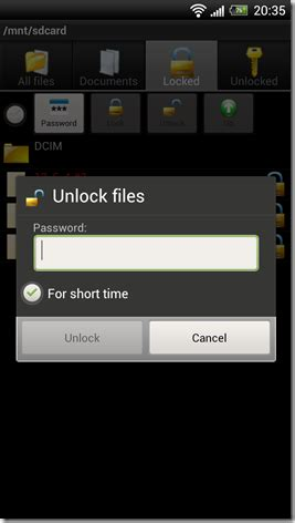 file locker for android how to encrypt or password protect files on android