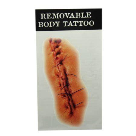 fake tattoos walmart stitches temporary by ganz walmart