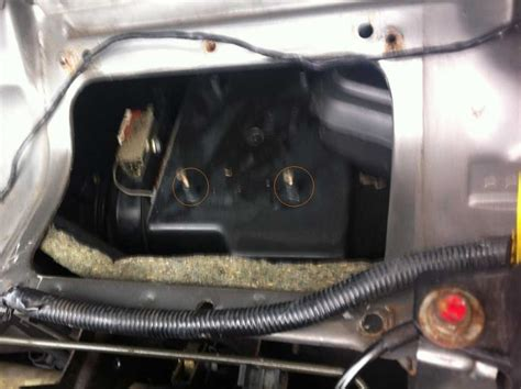 mg tf resistor pack removal mgf mg tf owners forum heater blower resistor replacement on an ac car
