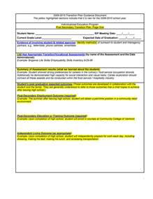 out of plan template 40 transition plan templates career individual