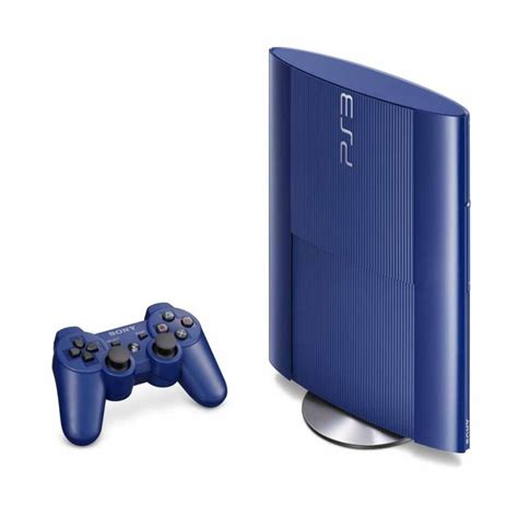 Blue Ps3 8 playstation 3 500 gb console blue consoles gaming landmarkshops