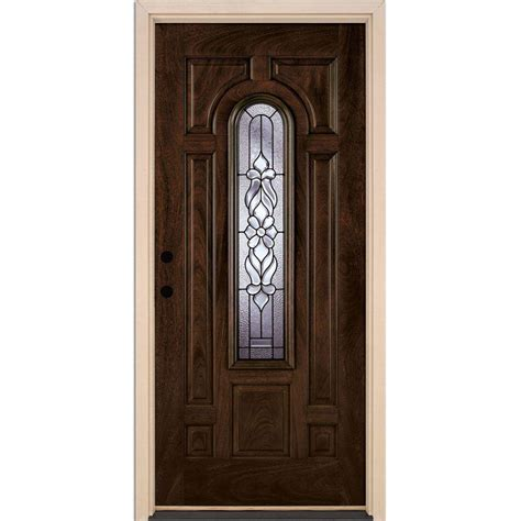 Feather River Doors 37 5 In X81 625 In Lakewood Patina Feather River Exterior Doors
