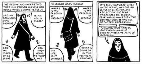 theme of persepolis the veil persepolis essay on rebellion satrapi persepolis 1