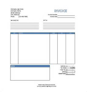 professional services invoice template excel invoice