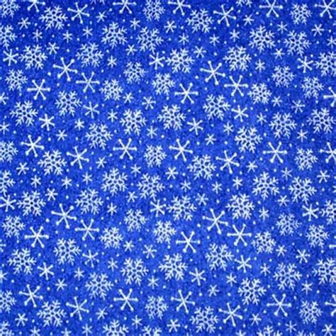 snowflake pattern material winter snow flake