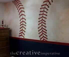 Baseball Wall Murals The Creative Imperative Some Yankees And Nationals