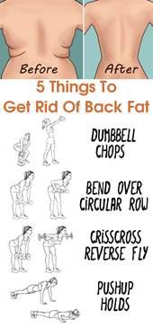 Things To Get Rid Of things to get rid of back fat a beginner s workout routine