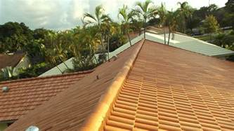 Barrel Tile Roof Flat Tile Roof To Barrel Tile Roof Upgrade Miami General Contractor