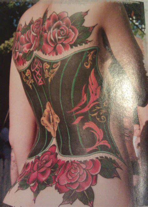 corset tattoos unique and lovely corset