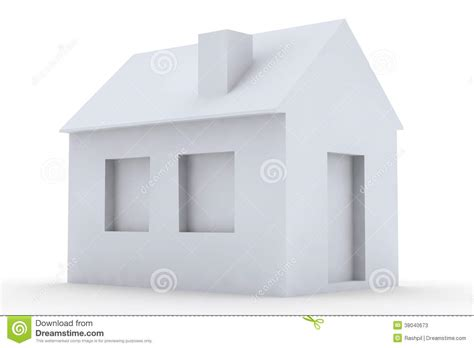 simple 3d house design simple 3d house stock photos image 38040673