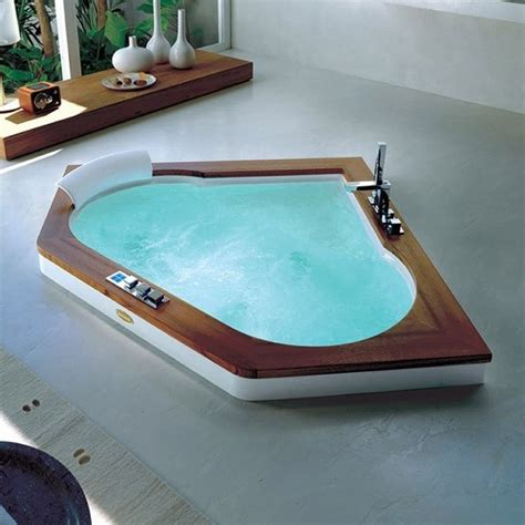 corner jacuzzi bathtub 18 amazing corner whirlpool bathtubs photograph ideas