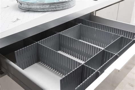 separatori cassetti separatore modulare per cassetti grigio compactor