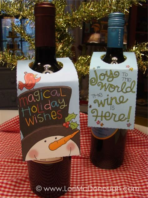 printable gift tags for wine bottles fresh picked whimsy november 2011