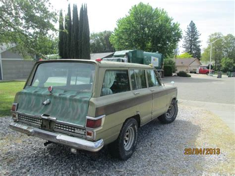 1970 Jeep Wagoneer For Sale 1970 Jeep Wagoneer 350 Motor 4 Speed Manual For Sale In