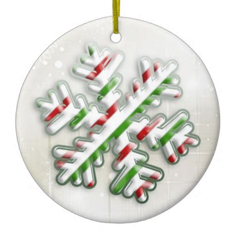 italian christmas snowflake ornament zazzle