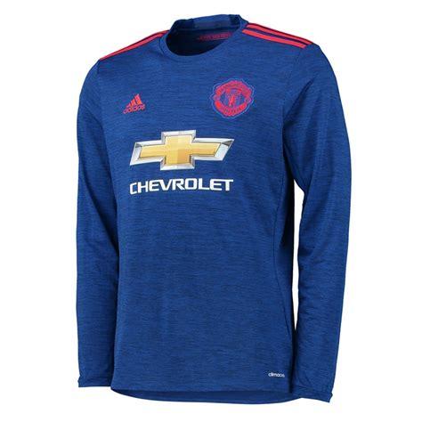Manchester United Away 2012 Longsleeve adidas manchester united away 16 17 sleeve soccer jersey royal blue ai6703