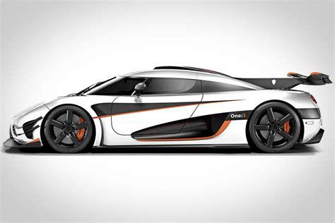 Leno Koenigsegg Leno Og Christian Koenigsegg Giver Den Gas I En