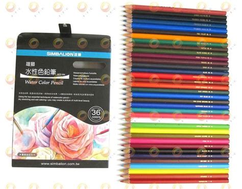 Simbalion Water Color 36 Colors 195 best images about coloring craft stuff on