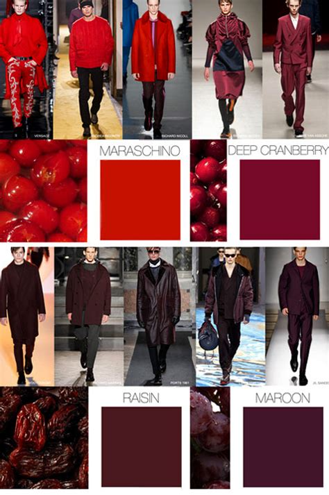fashion colors for 2016 fall winter 2015 2016 fashion trends menswear colors