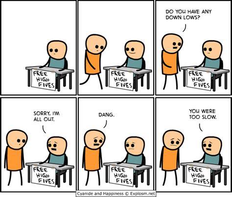 Funny Meme Comic Strips - free high fives comic strip 171 twistedsifter