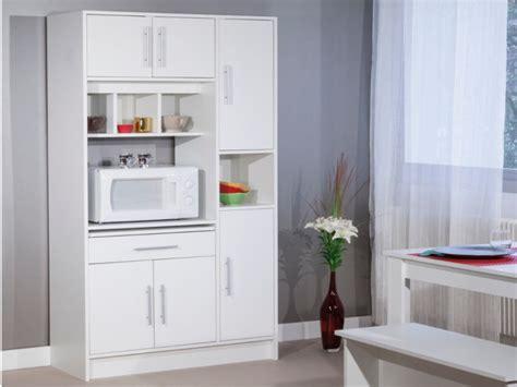 buffet de cuisine blanc buffet de cuisine mady 5 portes 1 tiroir blanc