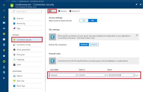 tutorial web portal design tutorial design an azure database for mysql using azure