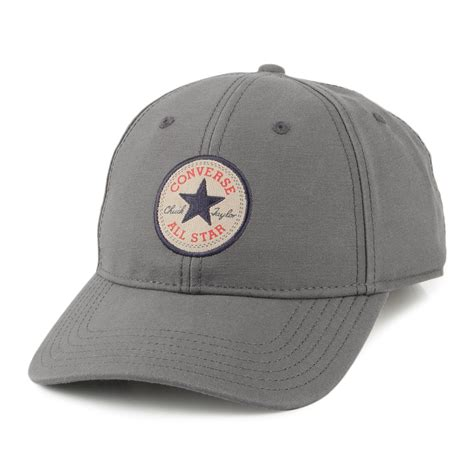 Baseball Caps 13 converse tip baseball cap grey summer wear