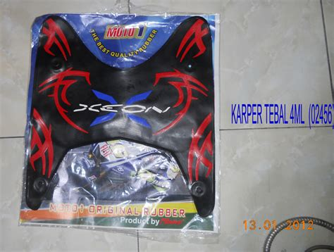 Karpet Xeon karpet nitto motor accessories spare part motorcycles