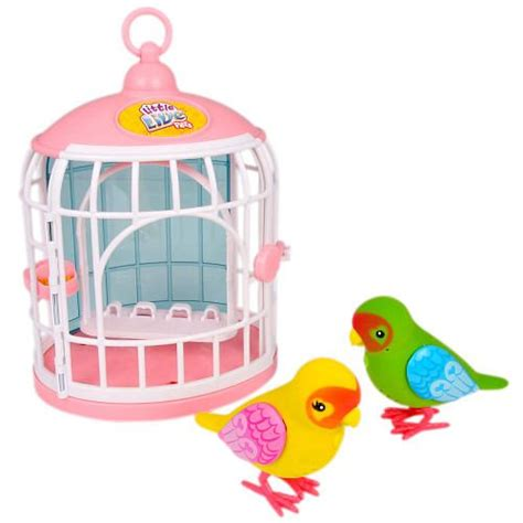 little live pets bird cage love birds double pack love