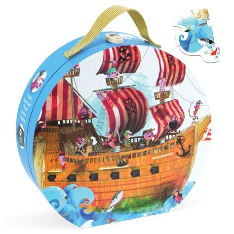 barco pirata los gigantes puzzle gigante barco pirata de janod en minikidz