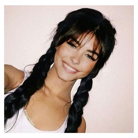 hairstyles bangs braids braids w bangs hair pinterest madison beer bangs