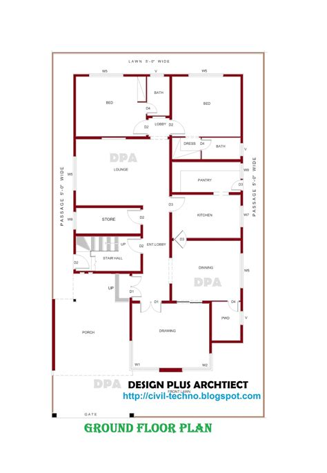 house design blueprints home plans in pakistan home decor architect designer