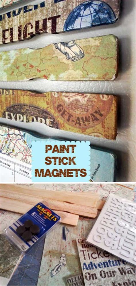 amazing diy crafts paint stick crafts diy projects craft ideas how to s for home decor with