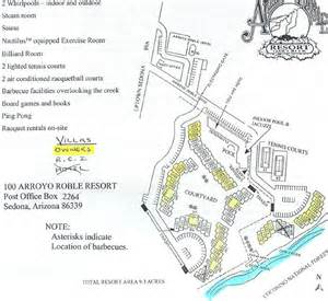 sedona summit resort floor plan sedona