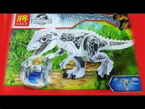 Lele Dinosaur World Jurassic World lego jurassic world indominus rex lele bootleg 79151
