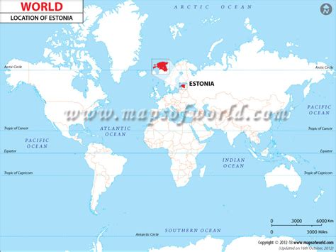 where is estonia on a map where is estonia location of estonia