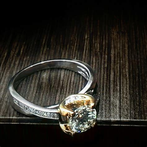 Cincin Wanita Solitaire Berlian jual cincin berlian wanita crw 015242 ri logammuliajewelry