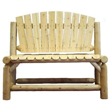 garden bench home depot lakeland mills garden bench with contoured seat slats