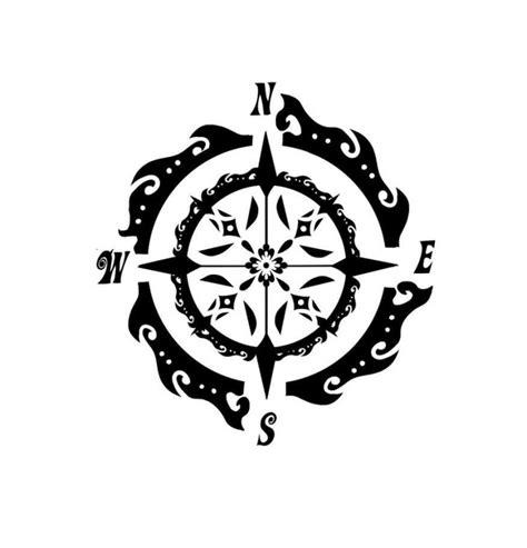 compass tattoo template pics for gt compass tattoo stencil