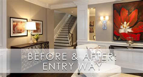 stylish transitional master bedroom before and after stylish transitional entry before and after robeson design