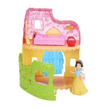 Snow White Cottage Playset by Disney Princess Magiclip Fashion Playset Snow White S Cottage