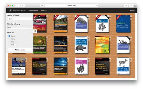 bookshelf apps 28 images pdf bookshelf a responsive