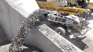 stone slinger backfilling retaining wall walmart 1 youtube