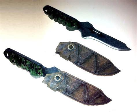 cqc knives metal gear cqc knife plastic by rbf productions nl on