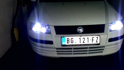 led diode fiat stilo fiat stilo custom headlights