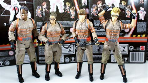 ghostbusters figures new ghostbusters 2016 figures part 1 mattel