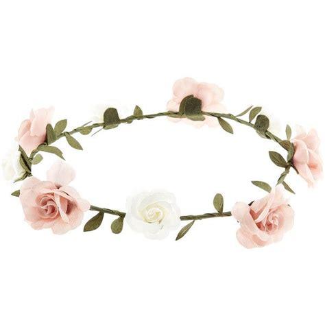 Bando Pink Tiara By Sashashop accessorize simple flower crown bando 7 88 brl
