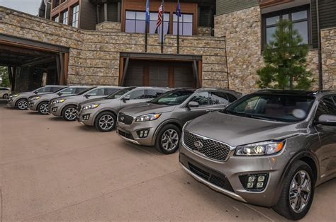 kia vehicle lineup 2016 kia sorento reviews and rating motor trend